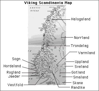 Page - Norway map counties
